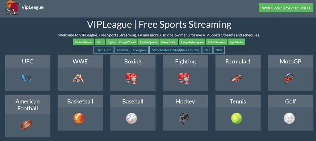 VIP League Sports