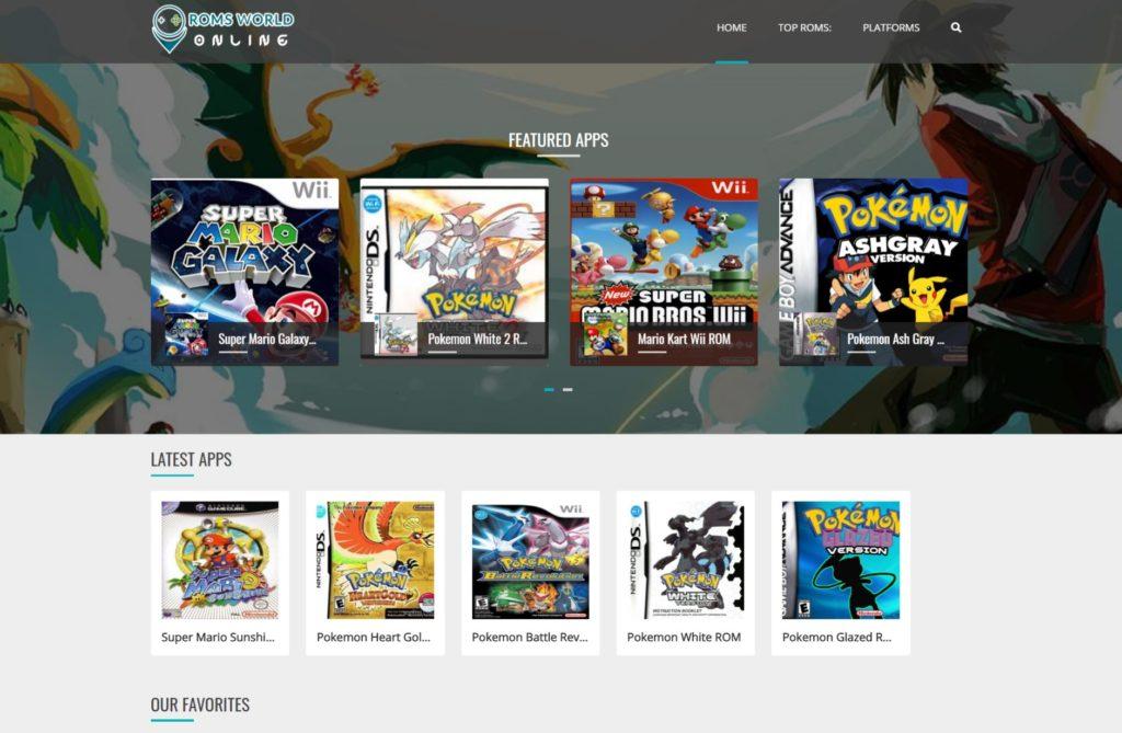 ROMs World Online