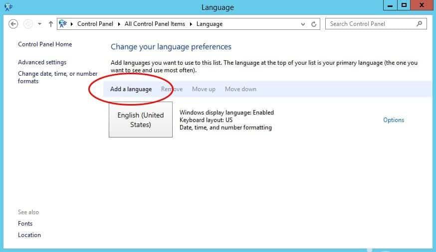 System Language