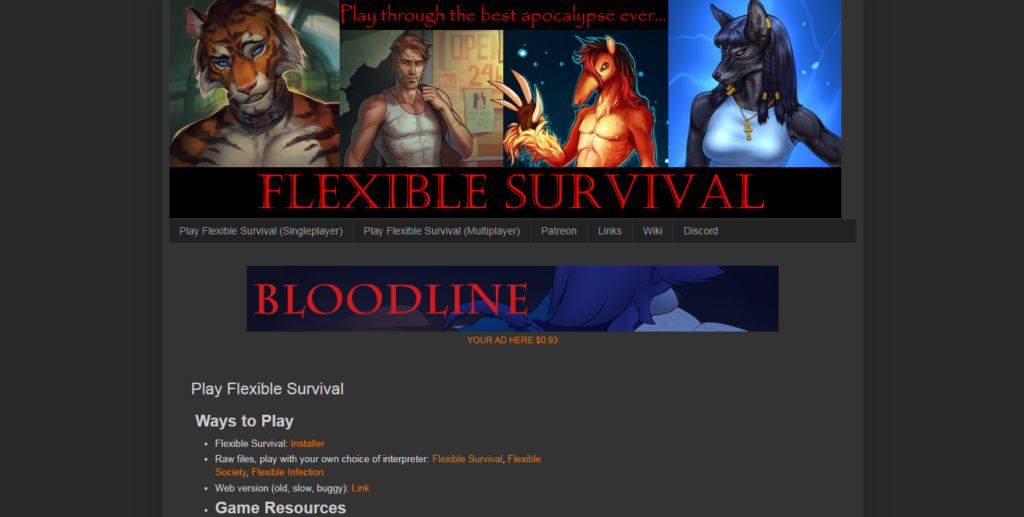 Flexible Survival